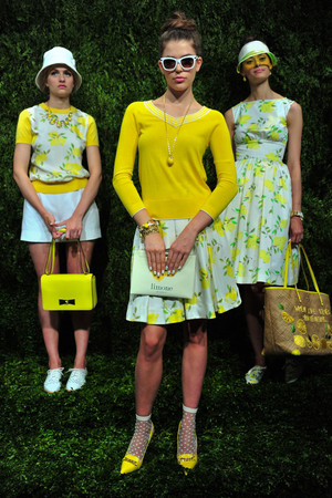Показ Kate Spade коллекции сезона Весна-лето 2014 года prêt-à-porter - www.elle.ru - Подиум - фото 558674