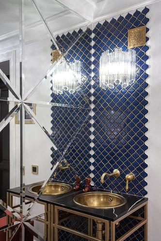 Квартира 64 м² с витражами и марокканскими мотивами в Санкт-Петербурге (фото 15.1)