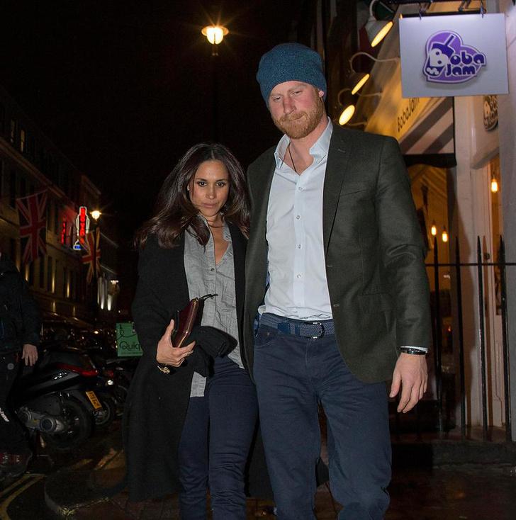 Фото дня: принц Гарри и Меган Маркл на романтическом свидании в Лондоне