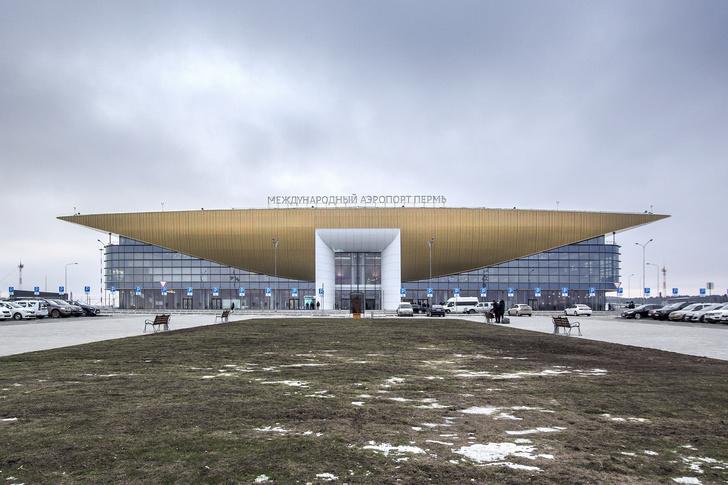 Новый символ Прикамья: терминал аэропорта Перми (фото 0)