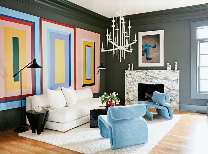 Яркий дом художницы в Джорджии (фото 0)