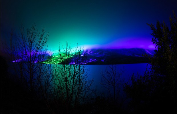 Северное сияние: световое шоу художника Кари Колы (фото 8)