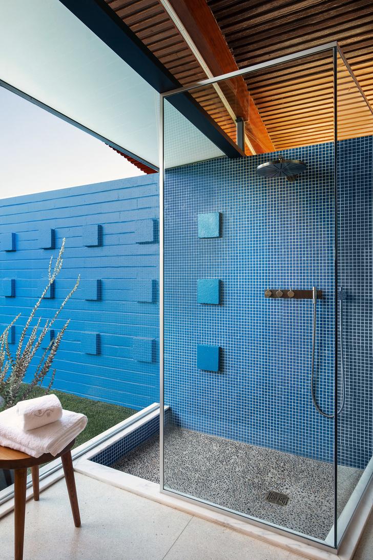 Модернистский дом-«волна» в Калифорнии (фото 13)