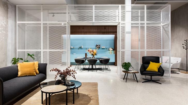 Индустриальный шик: мебельный бутик в Мельбурне (фото 0)