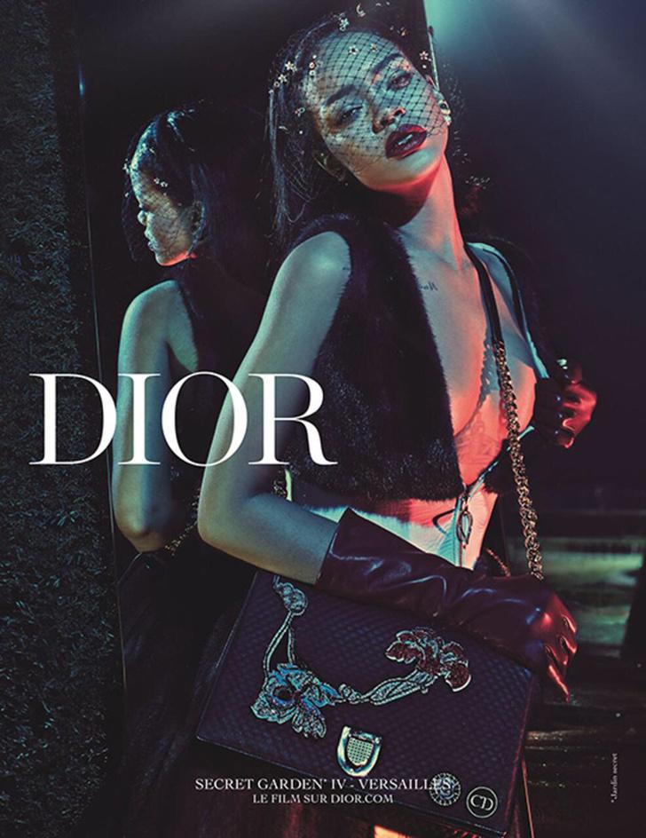 Рианна в рекламе Christian Dior