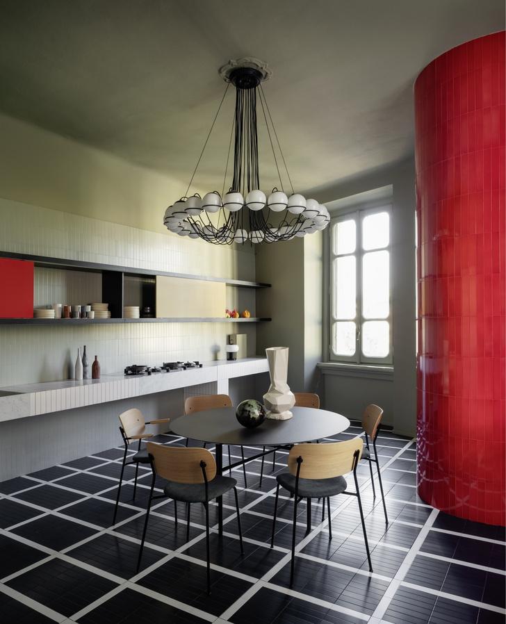 Темное царство: квартира в Милане (фото 6)