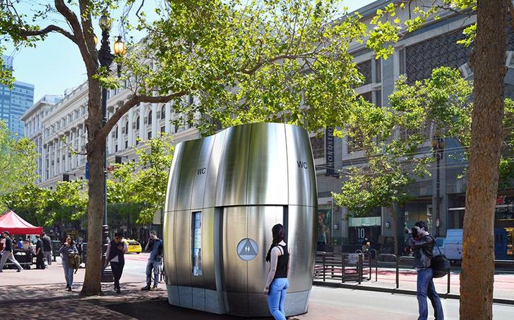 По большому: дизайнерские общественные туалеты (фото 5)