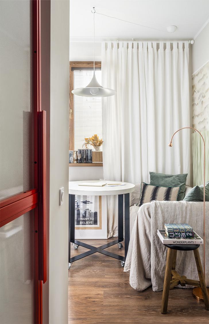 Функциональная квартира 38 м² для девушки-дизайнера (фото 5)