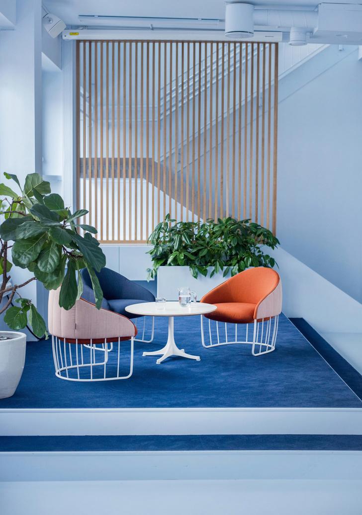 Офис в пастельных тонах по проекту Kvistad в Осло (фото 10)