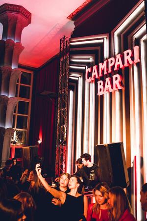 Гости открытия Campari Bar в гостинице «Пекин» (фото 3)