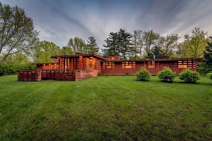 В Сент-Луисе продается дом по проекту Фрэнка Ллойда Райта (фото 0)