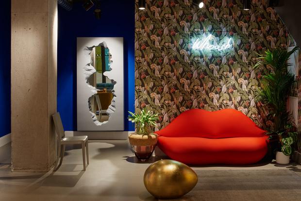 Интерьерный pop-up бутик House of Harth в Лондоне (фото 2)