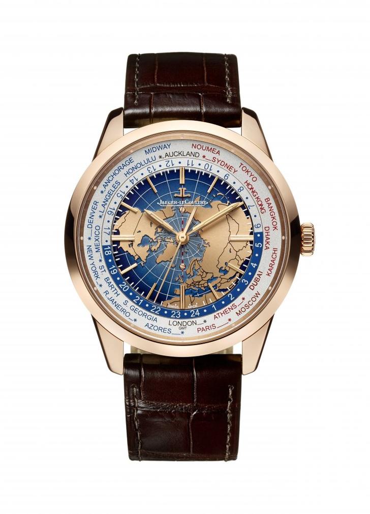 jaeger-lecoultre представил новую коллекцию часов
