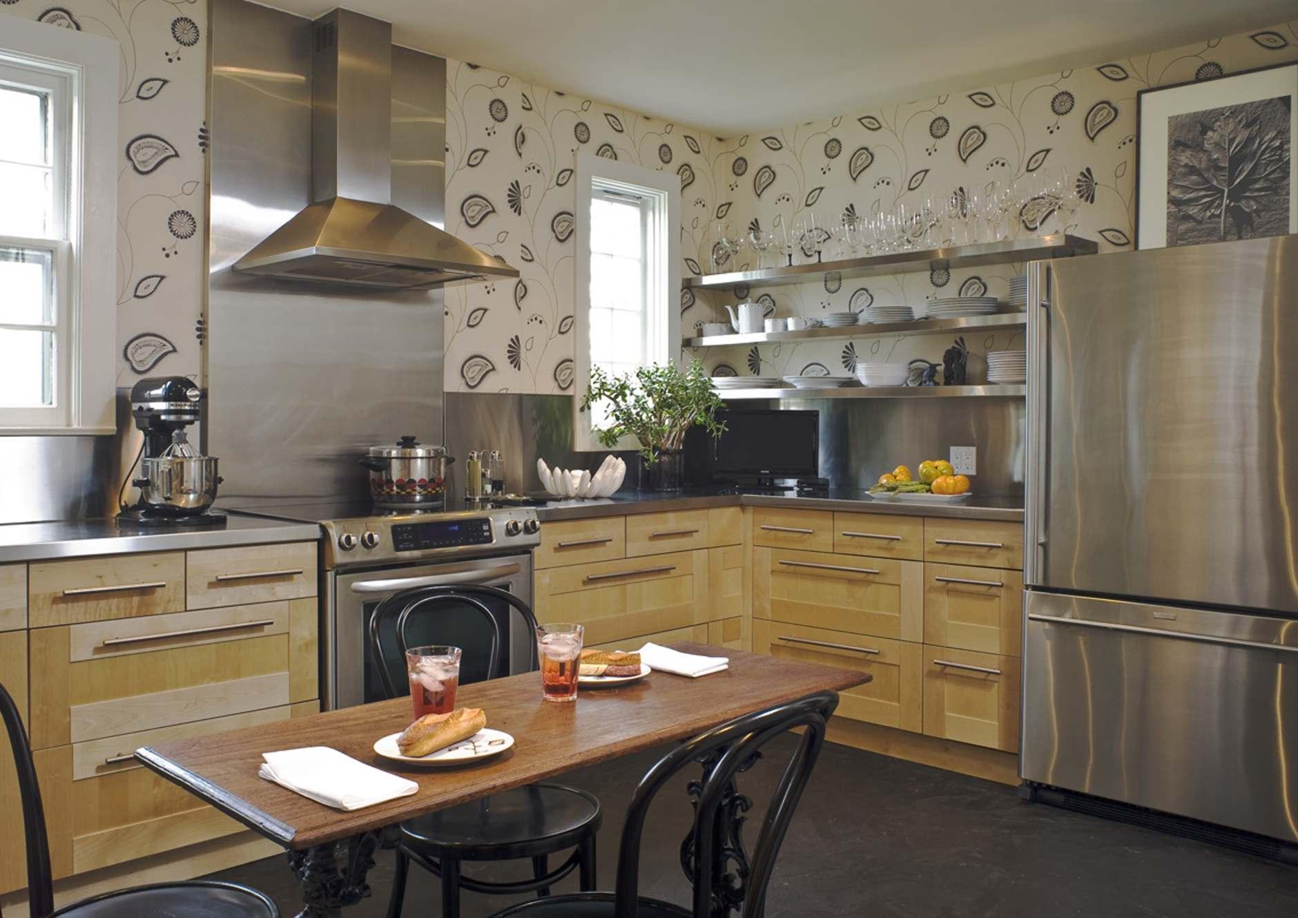 Обои на кухне: 10 свежих идей (галерея 0, фото 2)