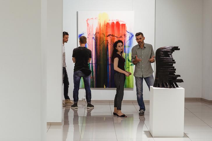 Форма & Цвет: выставка Валерия Пчелина и Игоря Михайленко (фото 6)