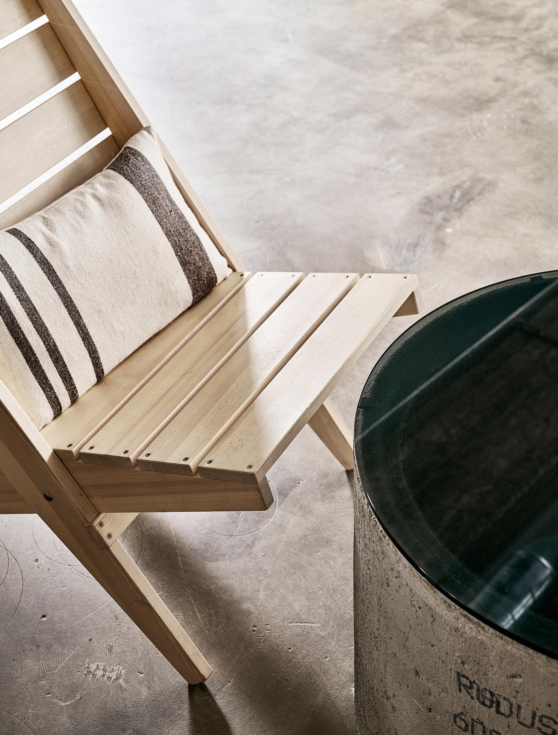 Дуб, бетон и скандинавский дизайн: сауна по проекту Studio Puisto (галерея 4, фото 2)