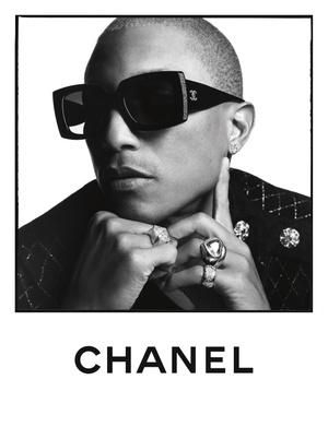 Фаррелл Уильямс, Маргарет Куэлли и другие звезды в кампании Chanel (фото 3.1)