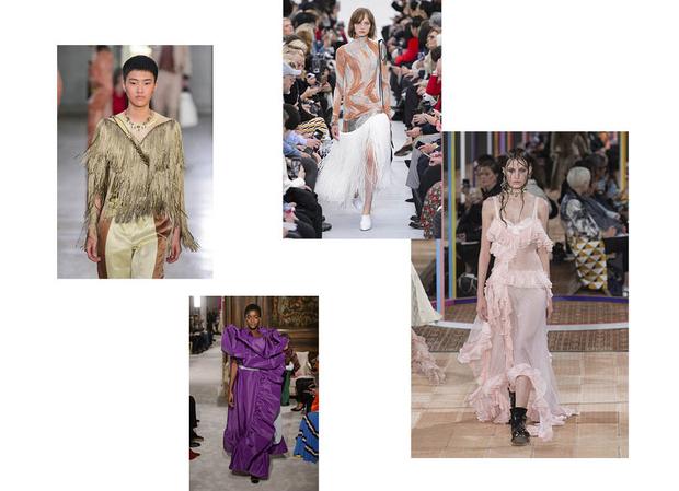 тренды весна лето женская одежда фото