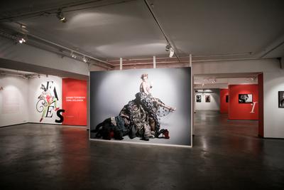 Матильда Шнурова и другие гости открытия выставки «Faces» (галерея 9, фото 2)