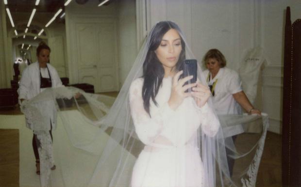 Ким Кардашьян свадьба