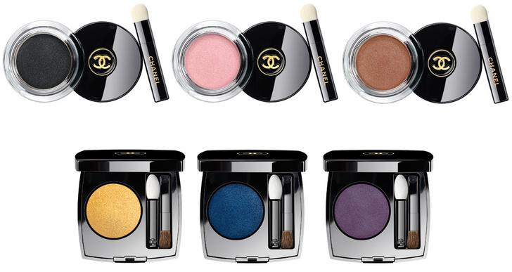 Стойкие кремовые и пудровые тени Ombre Premiere от Chanel
