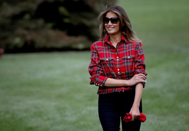 Мелания Трамп разбила огород на территории Белого дома фото [4]
