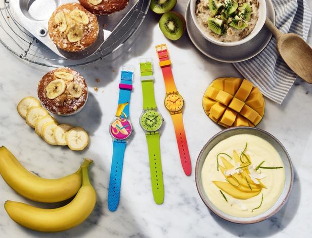 Крупным планом: часы Swatch Energy Boost (фото 1)