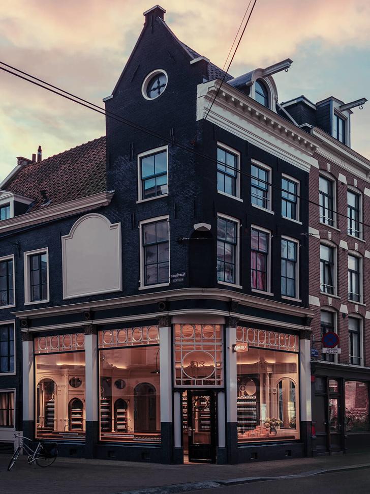 Как выглядит новый бутик Aesop в Амстердаме (фото 0)