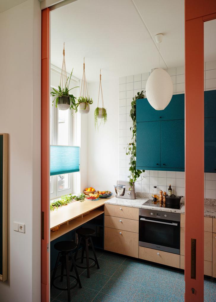 цветной дом в Роттердаме (фото 20)
