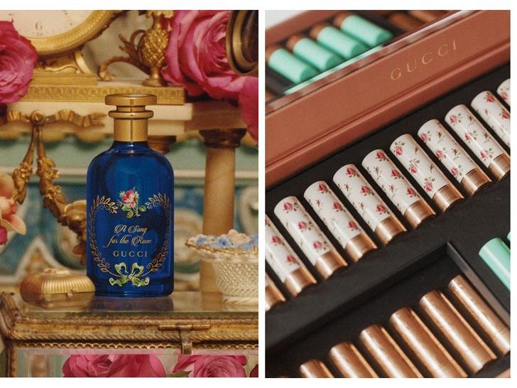 Набор алхимиста: розовый аромат и помада Gucci (фото 1)