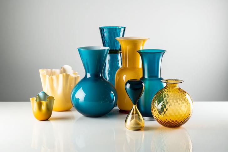 Баланс и хрупкость: вазы и декор Venini в новых оттенках (фото 0)