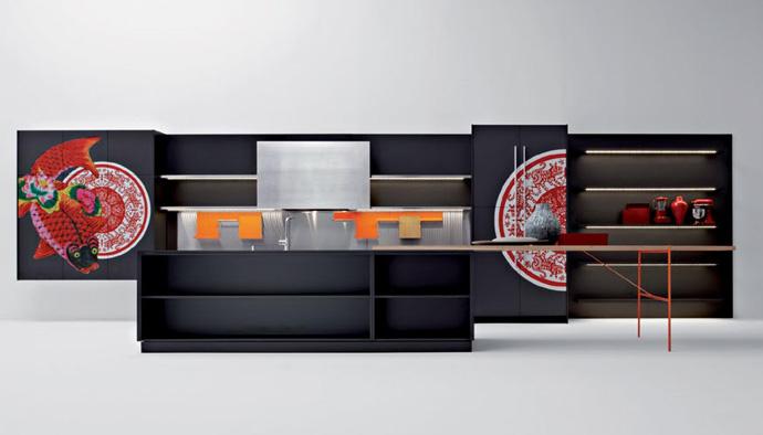 Кухня Playground, дизайн Людовики и Роберто Паломба для Elmar