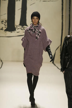 Показ Tracy Reese коллекции сезона Осень-зима 2009-2010 года Prêt-à-porter - www.elle.ru - Подиум - фото 91977