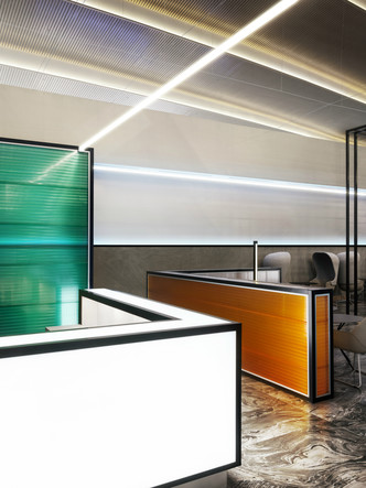 Бизнес-зал аэропорта «Платов» по проекту VOX Architects (фото 7.2)