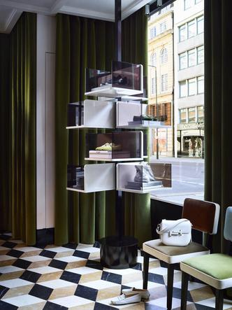 Обновленный бутик Tod's в Лондоне (фото 4.2)