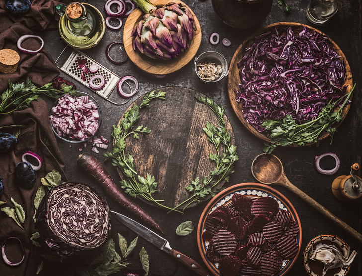 Викторианство & вегетарианство: салат «Мэри Поуп» (фото 3)