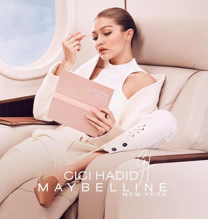 Палетка Джиджи Хадид для Maybelline побила рекорды продаж фото [2]