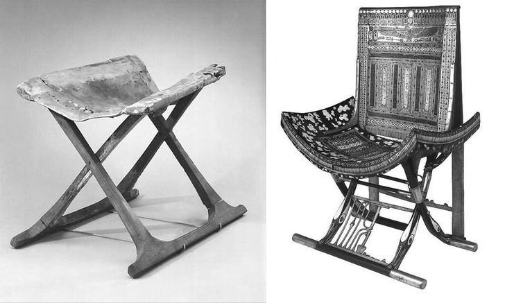 Х-файл: история мебели со скрещенными ножками фото [2]