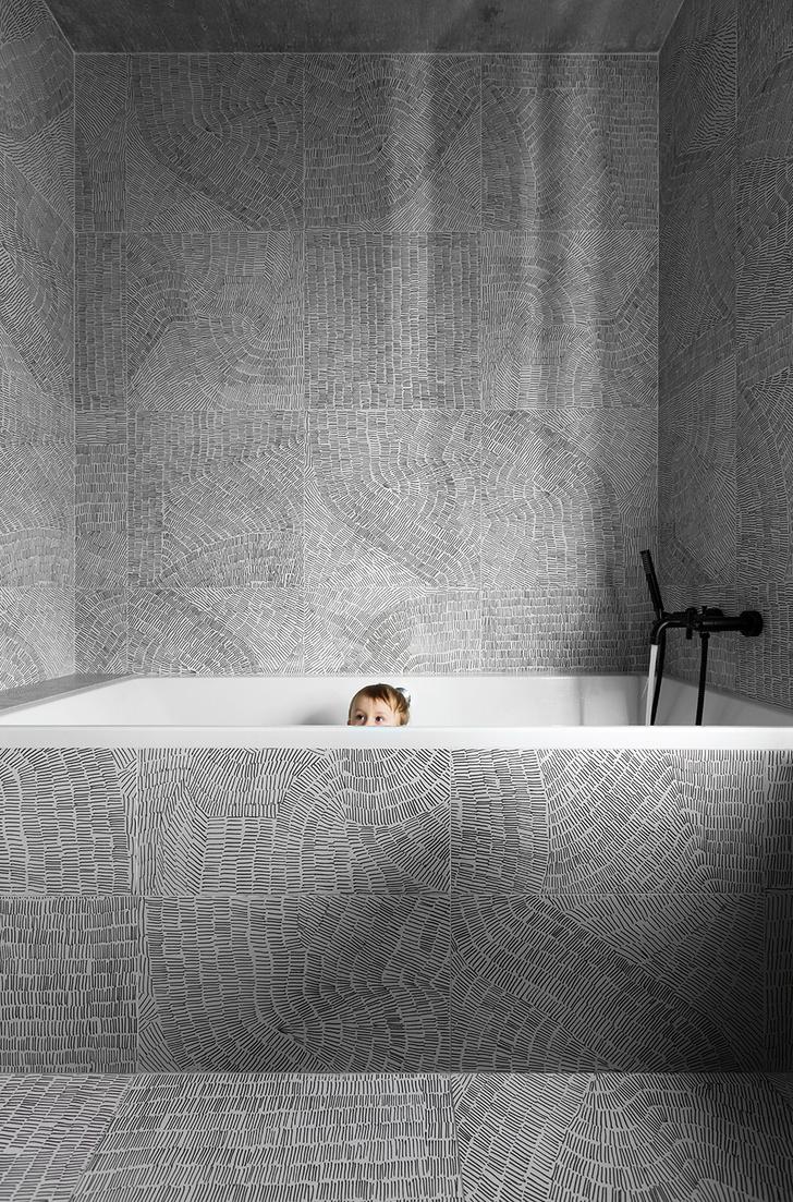 Ванная комната. Плитка Fossil