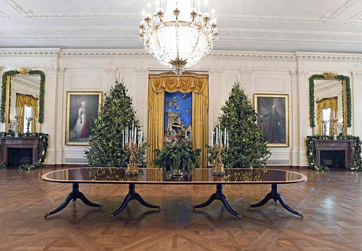 Мелания Трамп украсила Белый Дом к Рождеству фото [10]