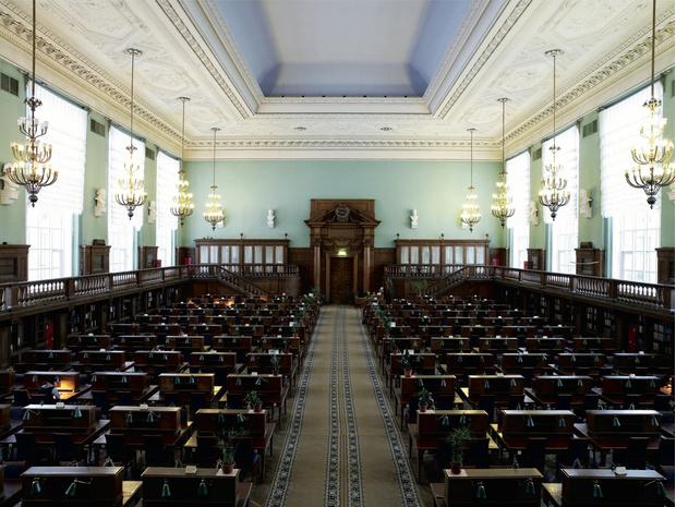 Закончилась реставрация главного читального зала РГБ (фото 11)