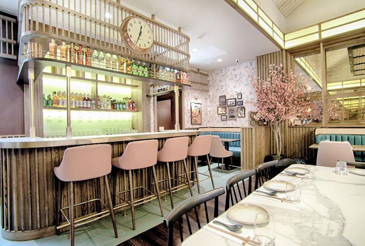 Сакура, мрамор и ротанг: новый ресторан азиатской кухни Shan Shui (фото 0)