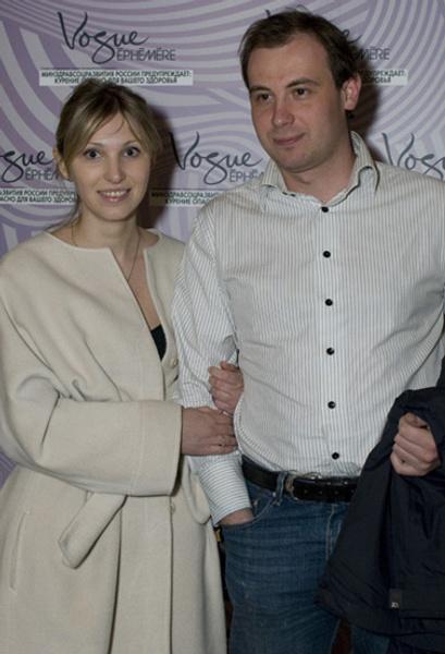 Анастасия Цветаева со спутником