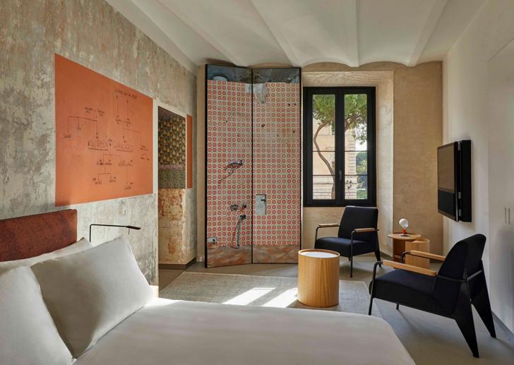 Необычный отель от Жана Нувеля The Rooms of Rome (фото 7)