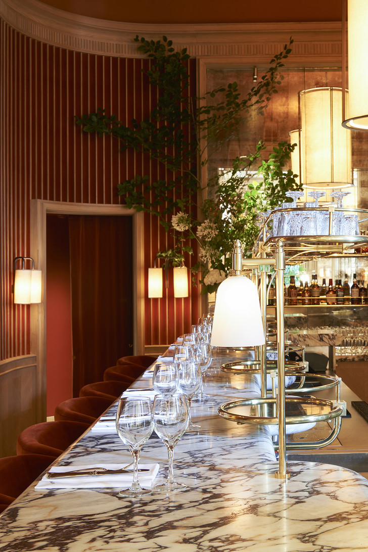Ресторан Girafe по дизайну Жозефа Дирана в Париже (фото 1)