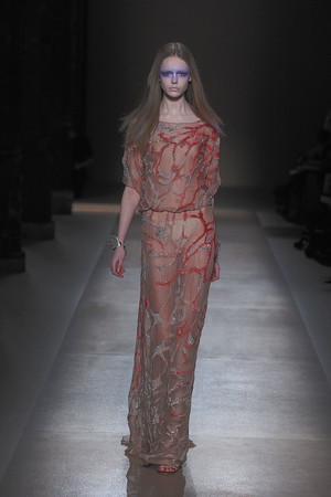 Показ Valentino коллекции сезона Весна-лето 2010 года Haute couture - www.elle.ru - Подиум - фото 139287