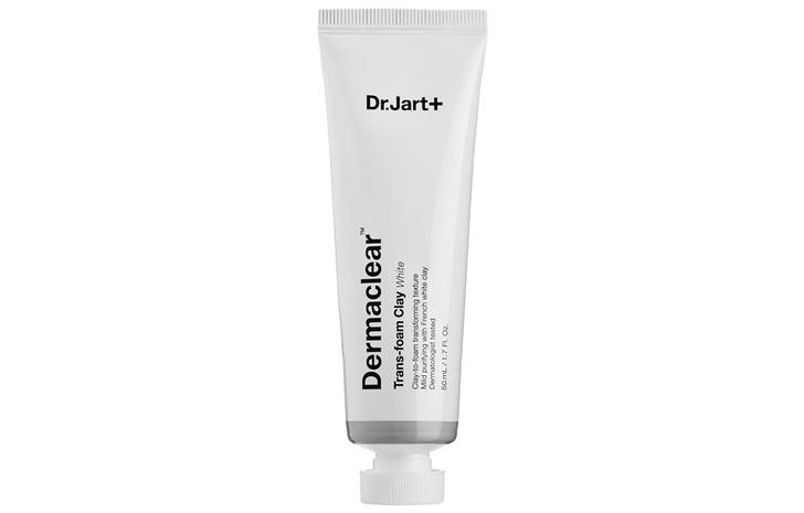 Успокаивающая маска с белой глиной Dermaclear Trans-foam Clay in Calming White