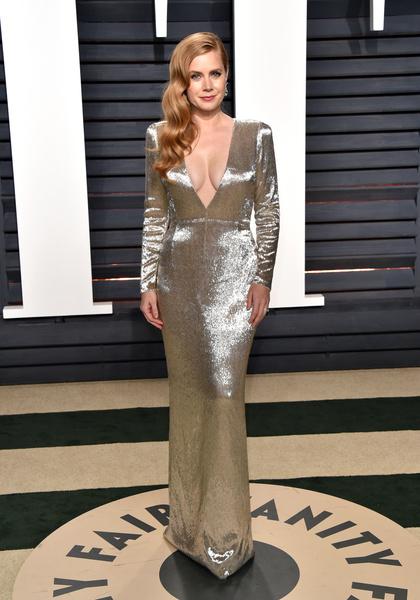 Самые красивые вечерние платья Эми Адамс фото [11]