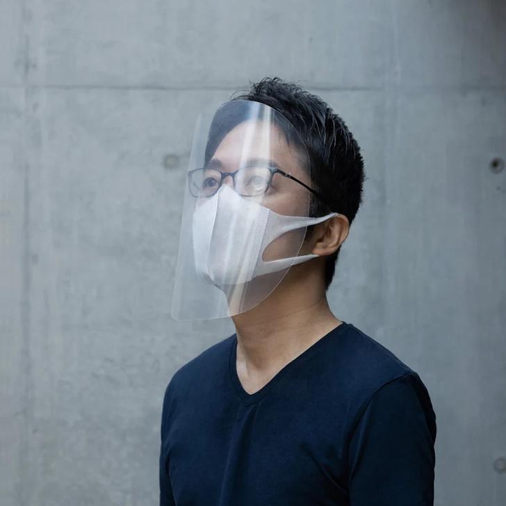 Новый способ сделать маску от дизайнера Токудзина Йошиоки (фото 0)