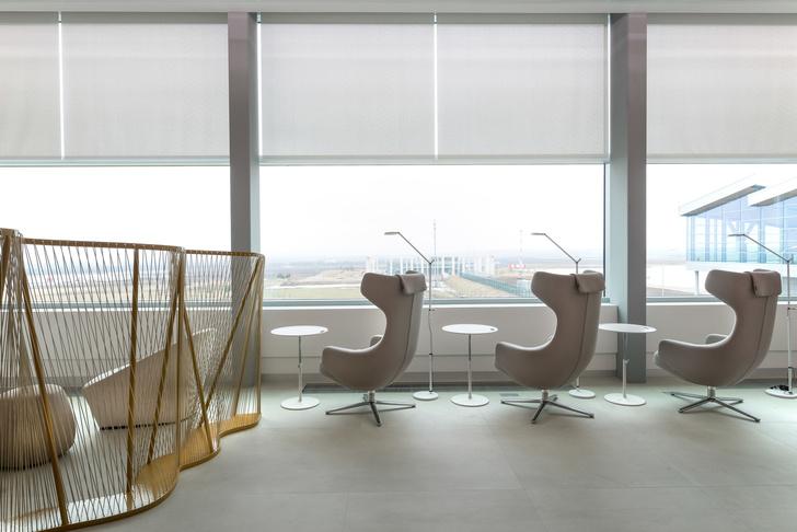Бизнес-лаундж аэропорта «Платов» в Ростове-на-Дону: проект VOX Architects (фото 7)